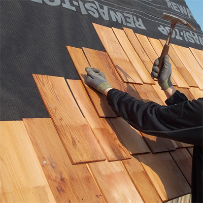 Tipps zur Verlegung von Holzschindeln