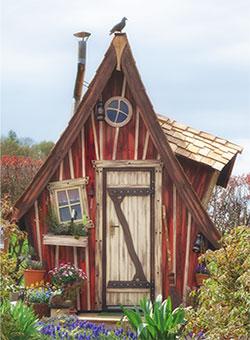 Sehr Lieblingsplatz • Ihr märchenhaftes Gartenhaus RF17